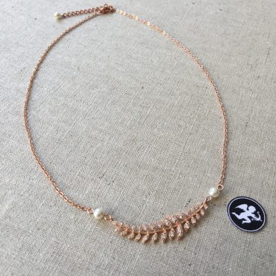 collier-mariée-diane-couronne-strass-feuille-rose-gold